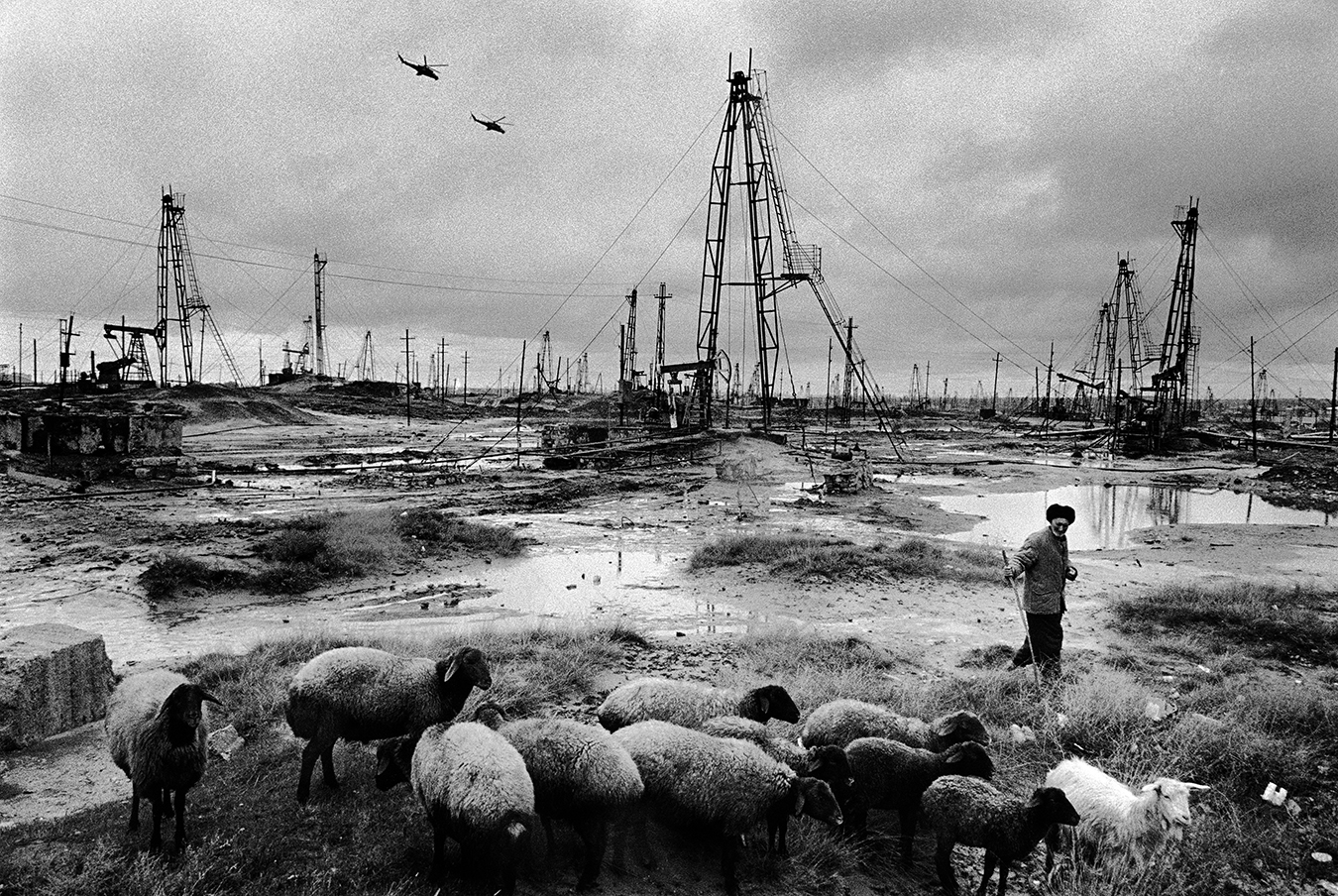 Azerbaijan, Baku. Balakhani Oil Fields. © 2007 Didier Ruef(click image to enlarge)