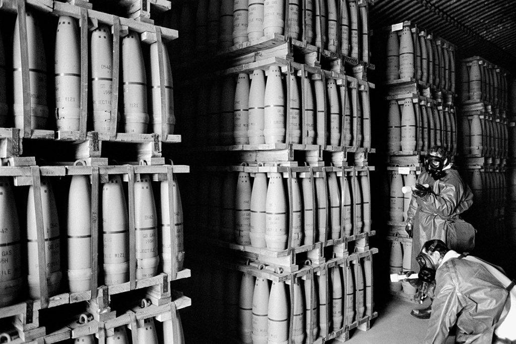 Deseret chemical depot, Tooele, Utah, USA