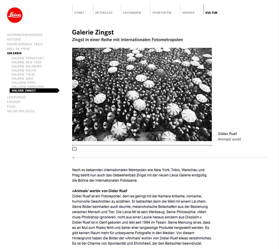 Leica Galerie Zingst