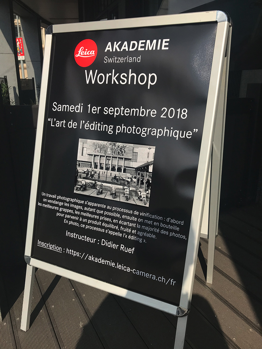 Leica Akademie Switzerland. Genève  Sept 1st. 2018
