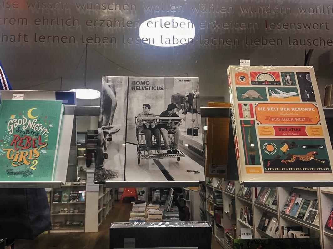 Homo Helveticus. Sinwel Buchhandlung. Bern (click image to enlarge)