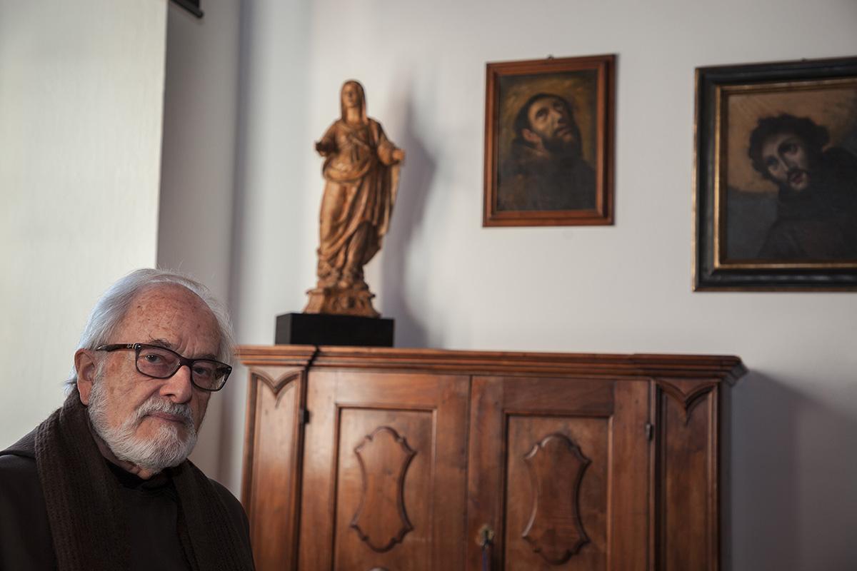 Fra Roberto Pasotti. Convento Santa Maria. Bigorio (click image to enlarge)