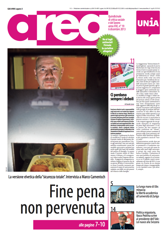 Area, 12/06/2013, Cover image (click image to enlarge)