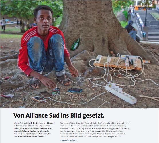 Alliance Sud. Herbst 2016. Seite 16