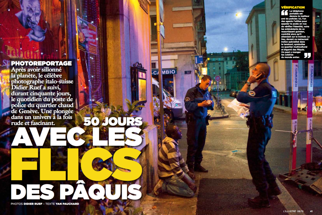 L'Illustré. No 8. February 20, 2013. Pages 40-53 (click image to enlarge)