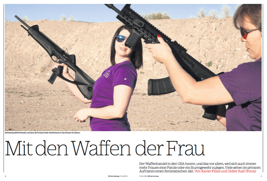 NZZ am Sonntag - May 15 2016. Pages 4-11