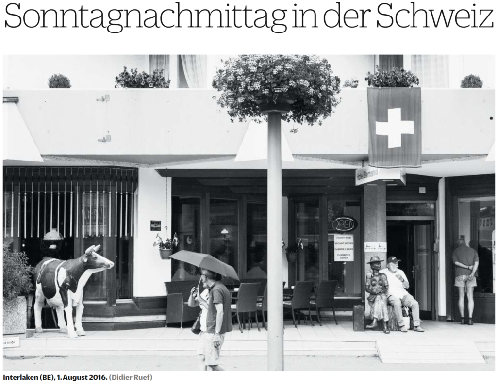 NZZ am Sonntag. August 7th 2016. Page 24