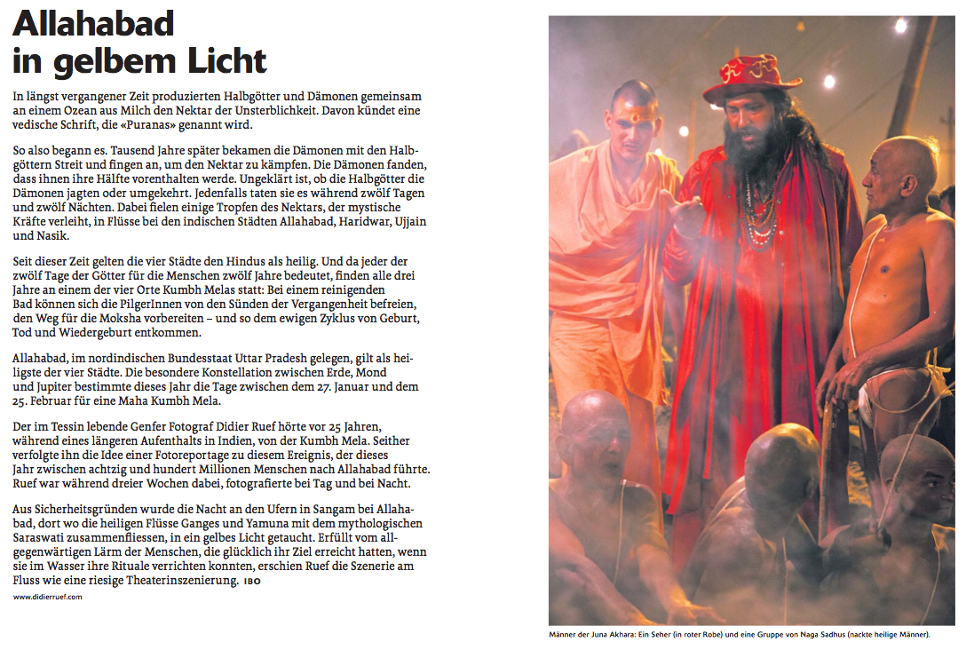 WOZ 11.04.2013, Nr. 15, Pages 20-21 (click image to enlarge)